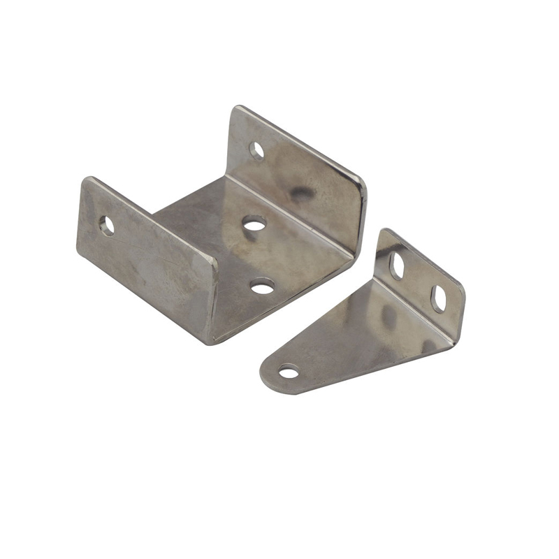 OEM custom Stamping L Size Angle Bracket and Triangle Shelf Bracket